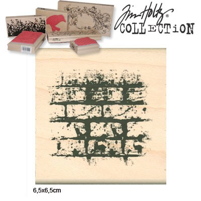 10507 Tim holtz stempel bricked (3612-019).