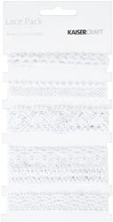 10691 Lace Pack 60cm 5/Pkg White (450524).