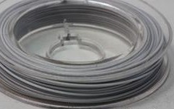 11479 Beading Wire 0,45mm Wit 10 Meter.