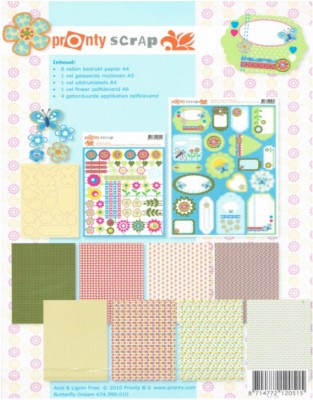 11658 Joy - Scrapset Butterfly Dream (6011/0902).
