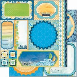 12274 Barefoot & Bliss Double-Sided Cut-Outs 12