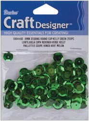 12554 Cupped Sequins/Pailetten 8mm 200/Pkg.