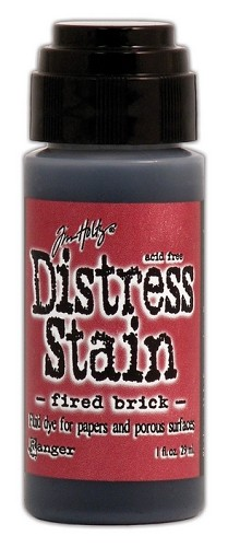 12732 Distress Stain Dabber Fired Brick.