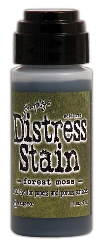12733 Distress Stain Dabber Forest Moss.