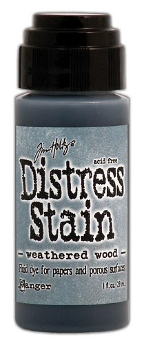 12738 Distress Stain Dabber Weathered Wood,