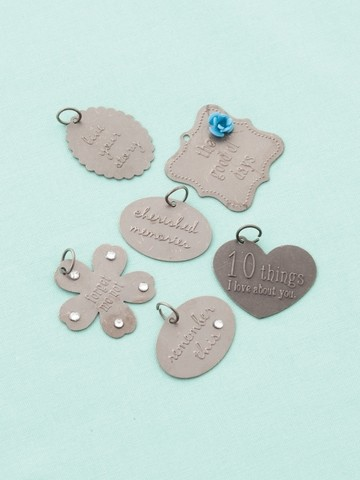 12804 Embossed charms memories / 6 ST.