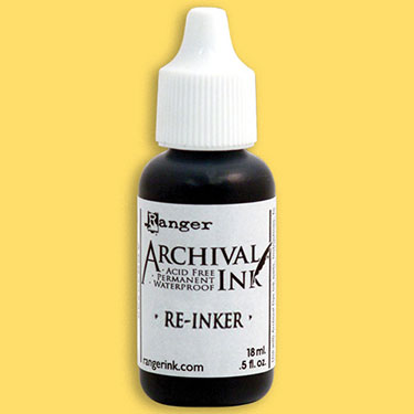 12827 Archival Reinker .5 Ounce Chrome Yellow.