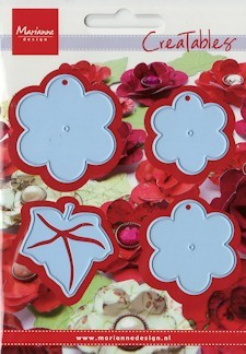 14507 Creatables stencil flower XL (LR0196).