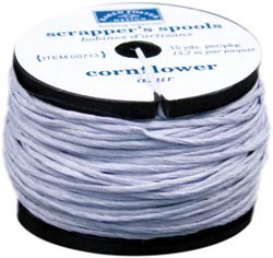 15511 Karen Foster Scrapper`s Floss 15 Yard Spool Cornflower.