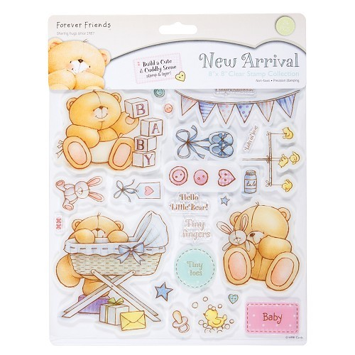 16186  CLEAR STAMPS - NEW ARRIVALS 20x21 cm.