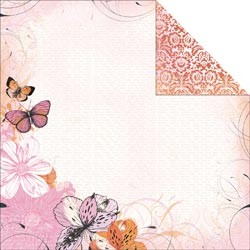 16320 Tigerlilly Double-Sided Paper 12