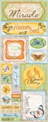 16469 Country Garden Cardstock Stickers Heaven Sent.
