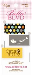 17028 Stick Pin Paper Flags 3/Pkg Cat.