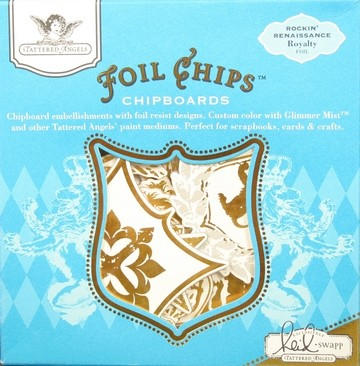 17083 Foil chips Heidi`s Collection 19 Stuks.