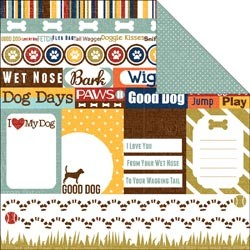 17293 Woof 2-Sided Paper Journaling.