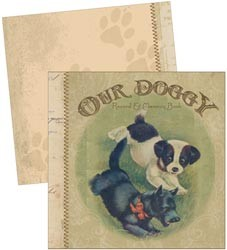 17301 Attic Treasures Printed Mini Album Dog 15,2 x 15,2 cm.