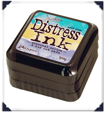 17392 Limited Edition Distress Ink Spring 3 Pads.
