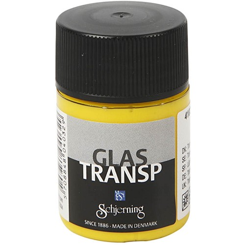17759 Glasverf Transparant Citroengeel 35 ml.