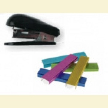 17918 MM Stapler magnetic with color staples.