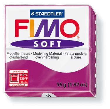 18248 Fimo Soft Paars.