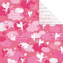 18469 Love Notes Double-Sided Paper Dreamy.
