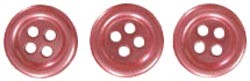 18692 Self-Adhesive Pearl Buttons 6/Pkg 12mm Red.