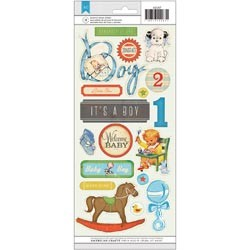 20360 Clearsheet Stickers Baby Boy 12x31 cm.