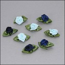 20593 Ribbon Roses Blue (CP8937).