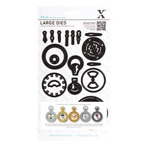 20781 Dies (21pcs) - Chronology - Pocket Watch (Large).