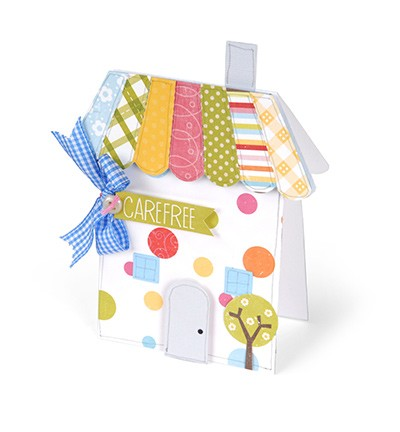 24305 Sizzix Bigz XL Card House (658542).