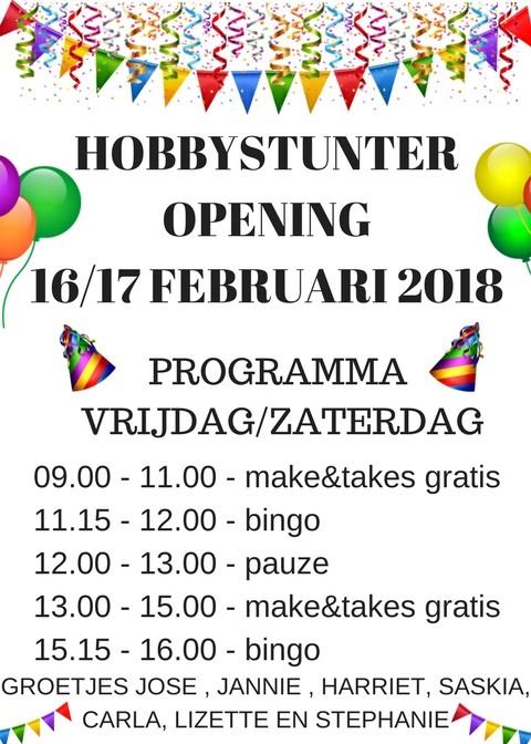 HOBBYSTUNTEROPENING-16-17-FEBR - Groot